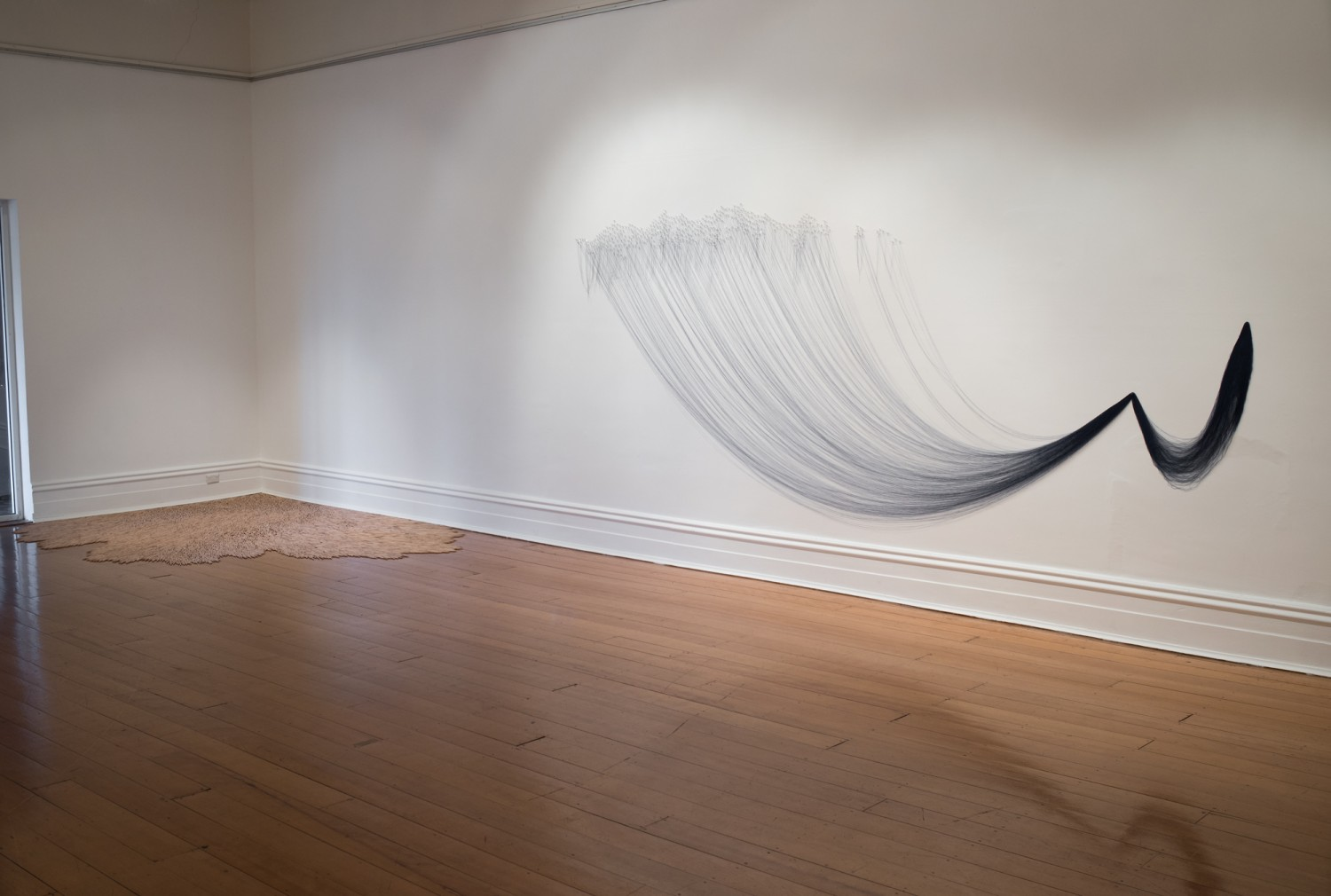 spill, some kind of longing : installation view by Michele Elliot