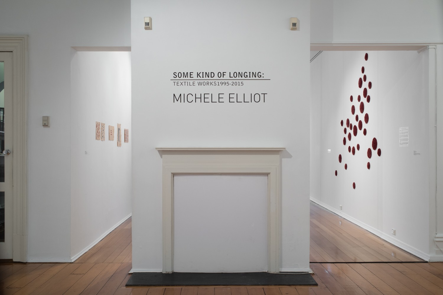 some kind of longing : textile works 1995-2014 by Michele Elliot